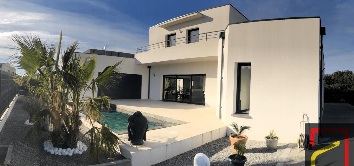 Construction d'une maison contemporaine à Agde !